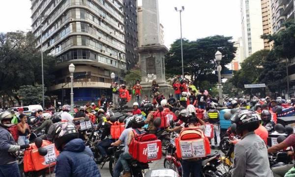 UGT apoia greve dos entregadores