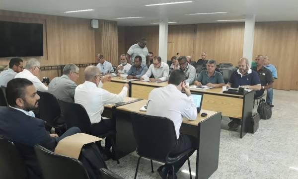 REUNIÃO NEGOCIAÇÃO SETOR TRANSPORTE DE CARGA
