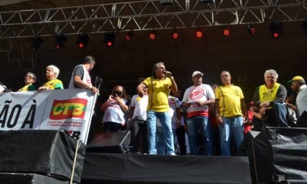1º de Maio Unitário dá a arrancada para a greve geral de 14 de junho